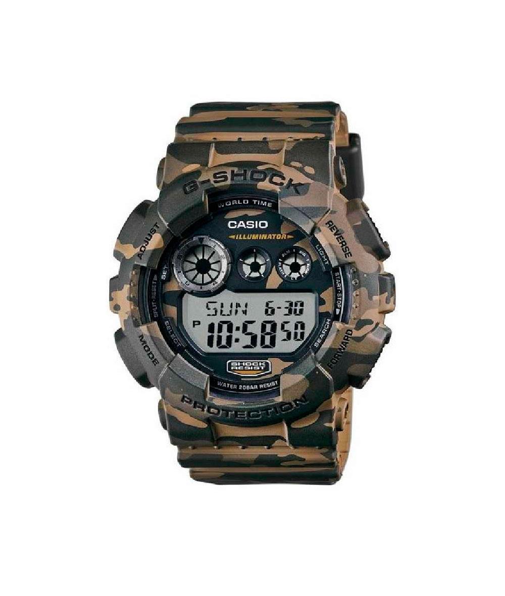 G-Shock Camuflaje - GD-120CM-5ER
