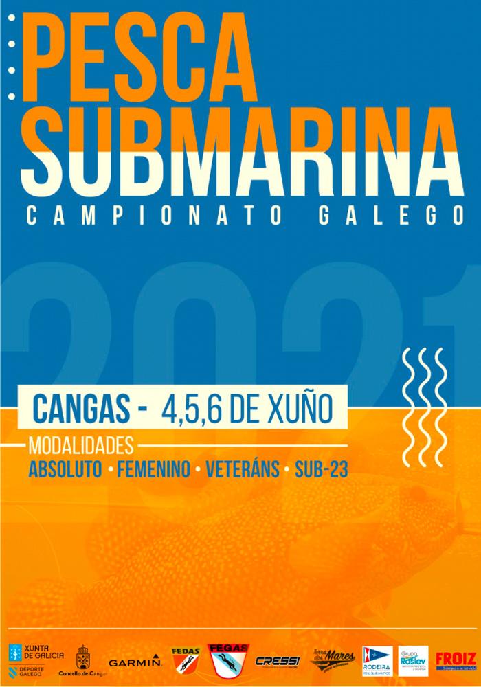 LXI Campeonato Gallego de Pesca Submarina, Cangas