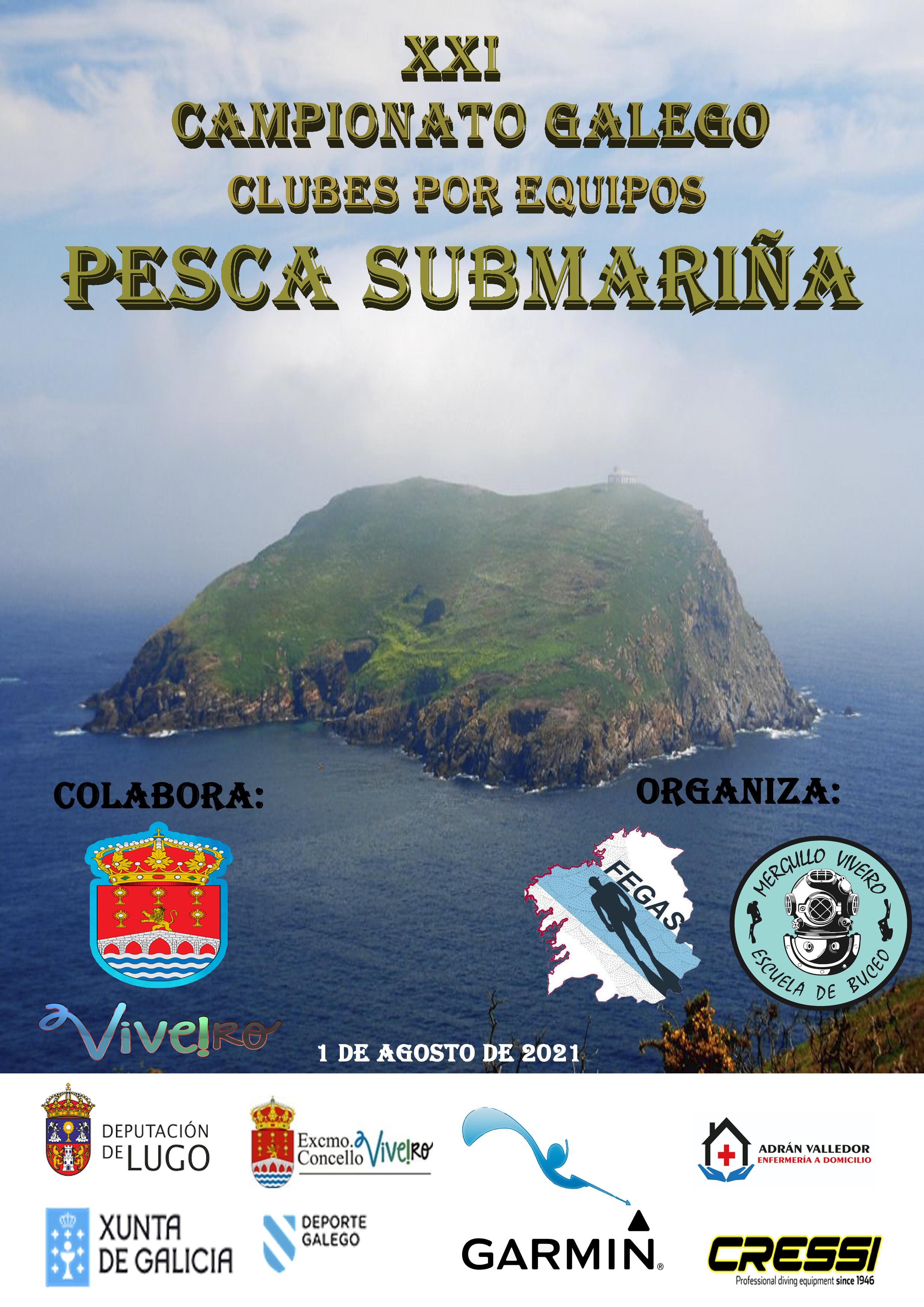 XXI Campeonato Gallego de Clubes por Equipos de Pesca Submarina
