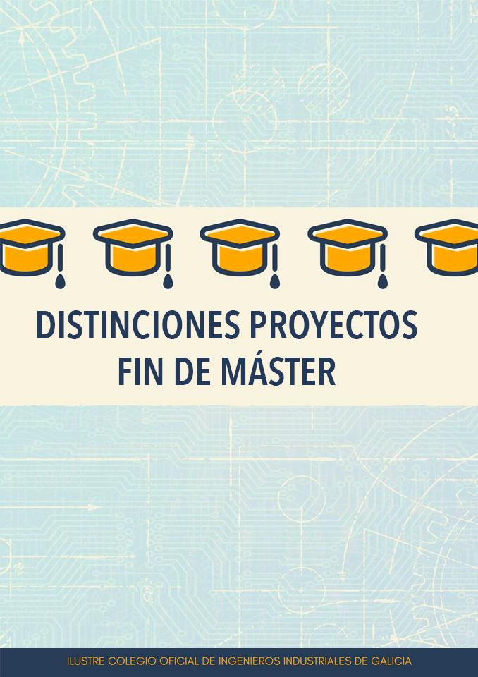 Distinciones Proyectos Fin de Máster  CONVOCATORIA 2020