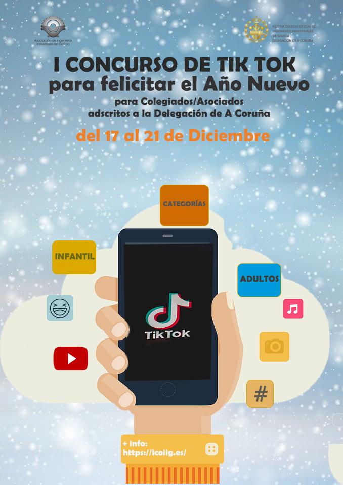 I Concurso de TIK TOK para felicitar el Año Nuevo