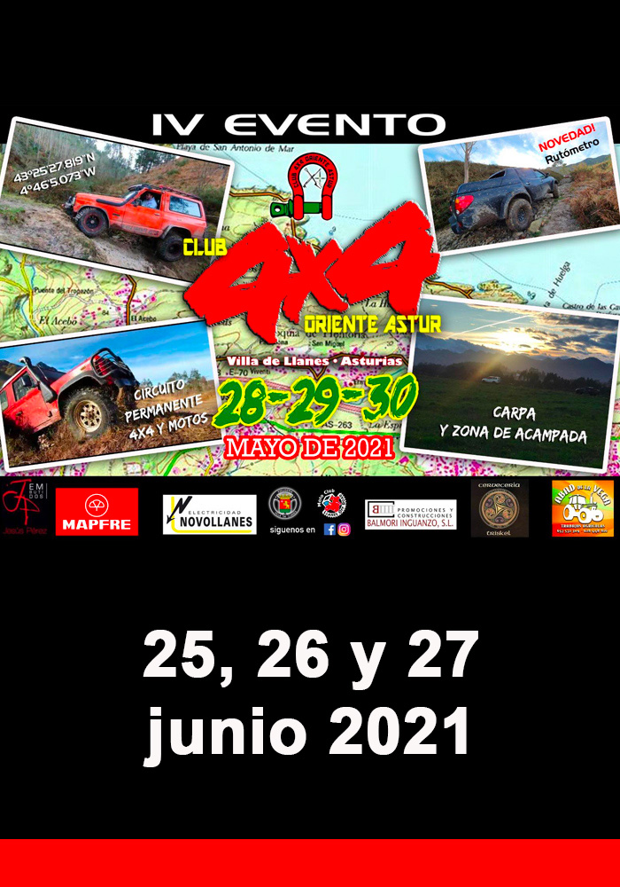 IV Evento Club 4x4 Oriente Astur