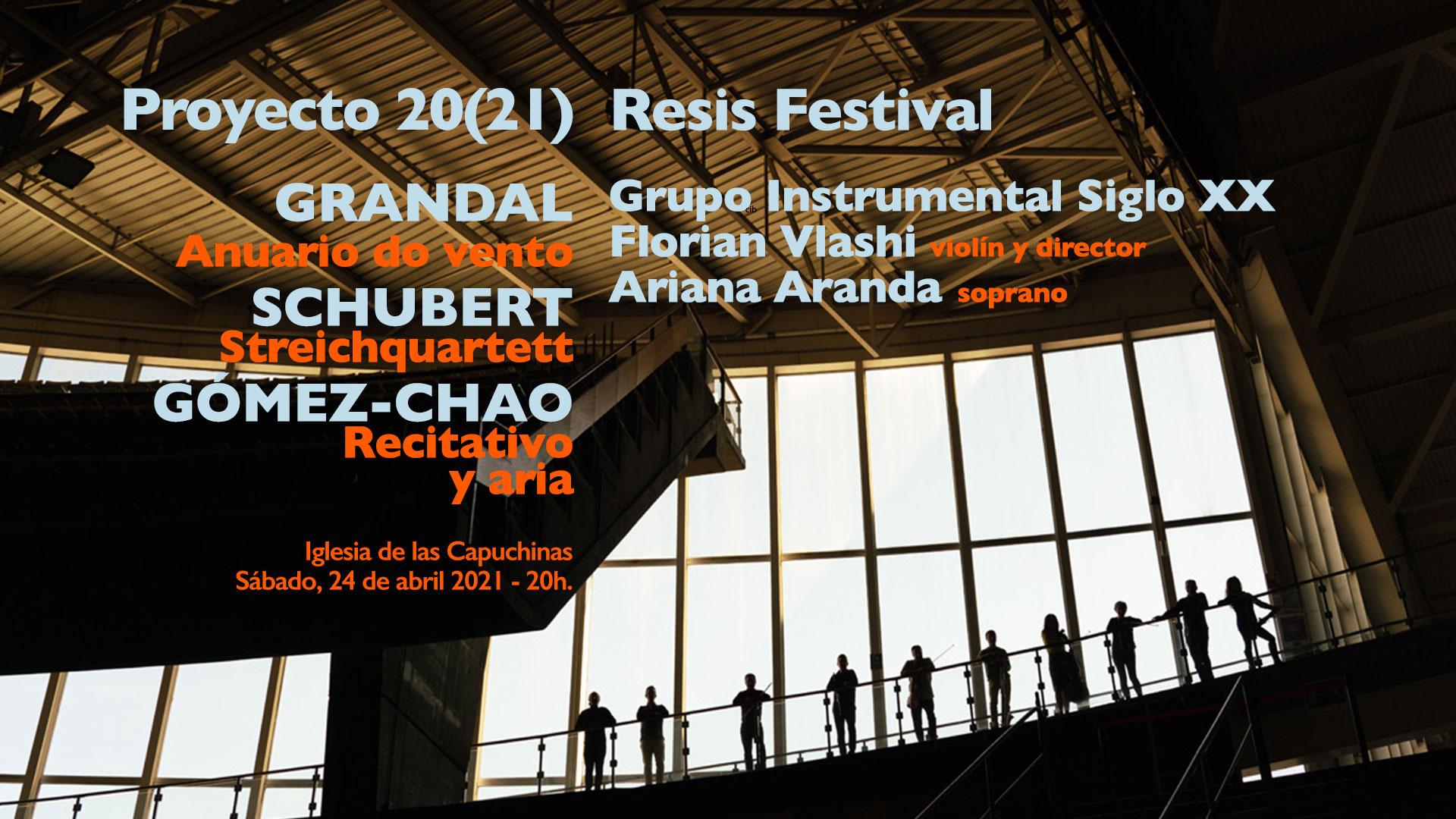 Proyecto 2020(21) Resis Festival - Grupo Instrumetal Siglo XX