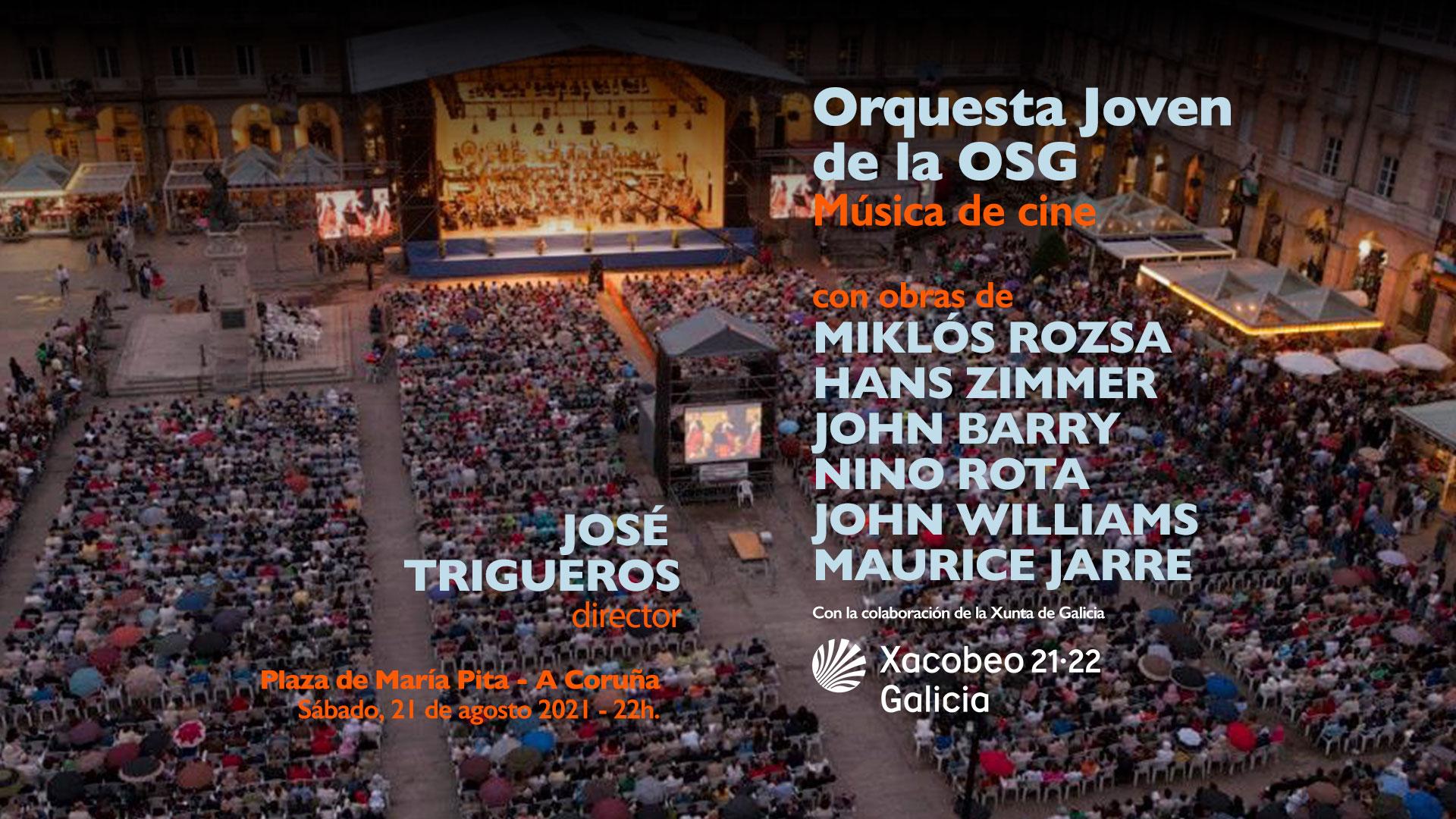 Orquesta Joven de la OSG - María Pita 2021