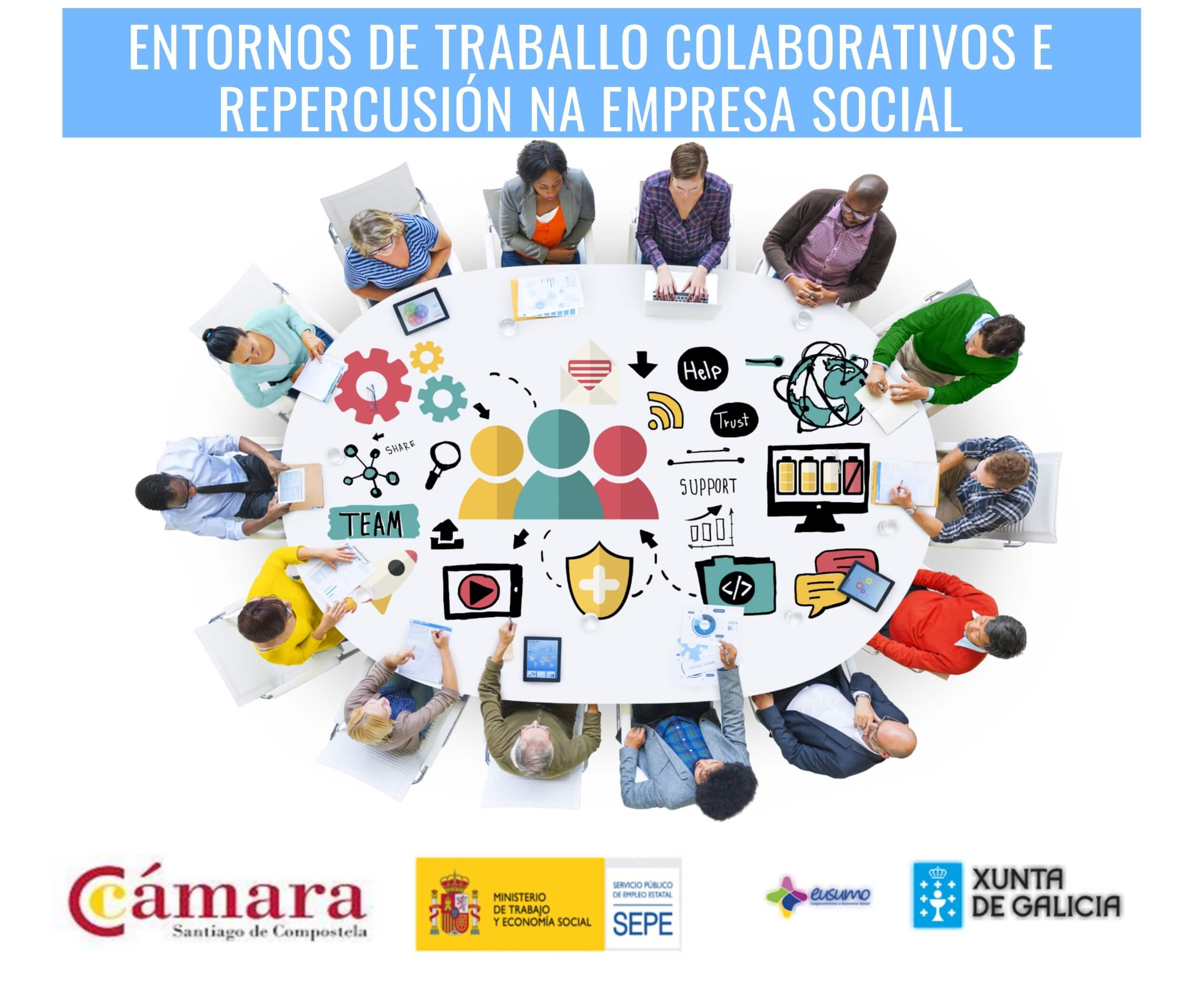 TALLER ENTORNOS DE TRABALLO COLABORATIVOS E REPERCUSIÓN NA EMPRESA SOCIAL