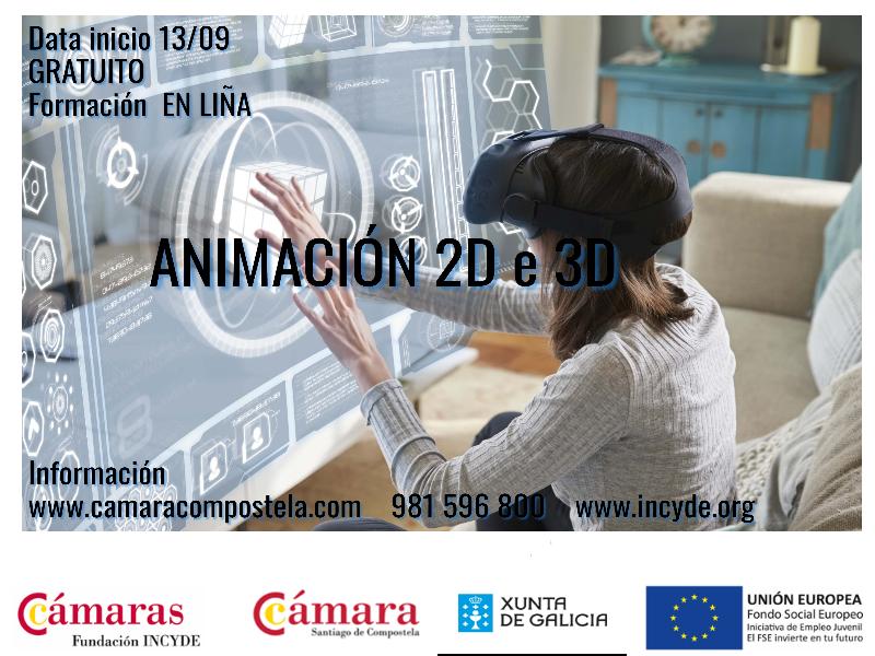PROGRAMA ANIMACIÓN  2D e 3D