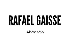 RAFAEL GAISSE ABOGADO