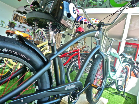 La casa de la bicicleta urbana